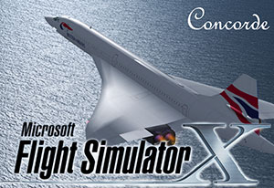 An example of the Concorde splash screen that's available.
