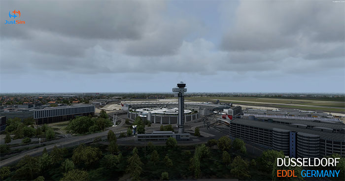Control tower and terminals.