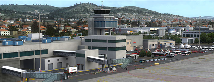 Control tower and terminal