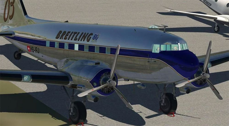 C-47 Dakota in XP11.