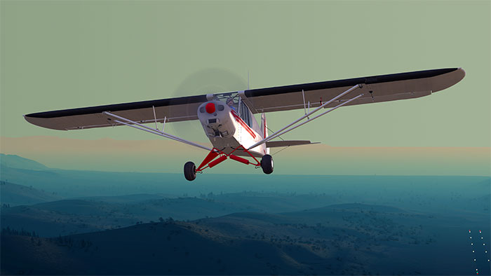 Screenshot from Dovetail Games Flight Simulator