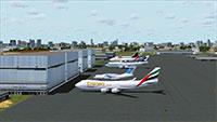 Dubai Int. Airport in FSX.
