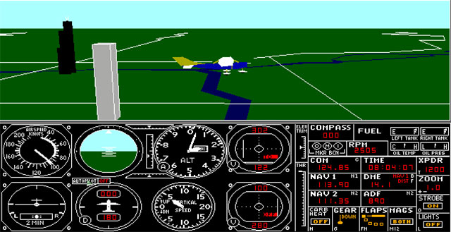 Virtual airlines in the early days