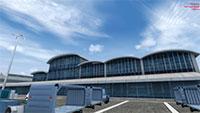 Terminal building at EGHH.