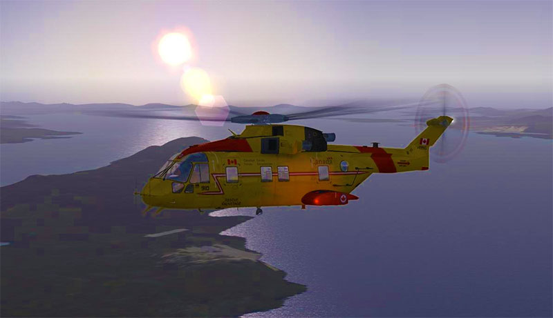 EH101 Helicopter