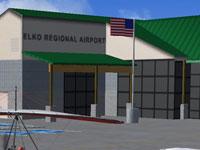 Elko airport in FSX
