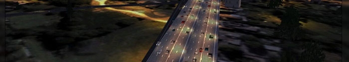 Enhanced FSX road textures