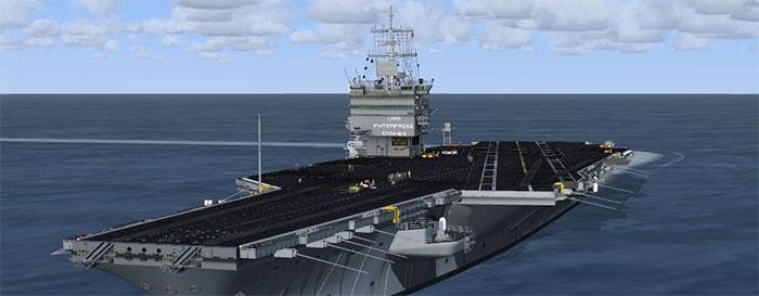 Enterprise carrier in FSX