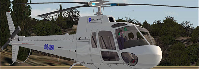 Eurocopter AS350 Ecureuil.