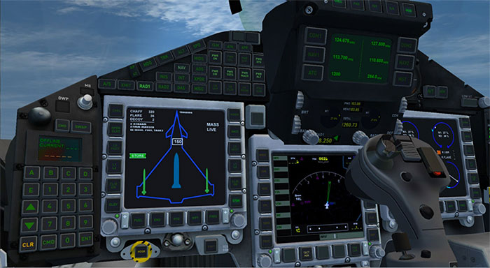 Eurofighter Virtual Cockpit