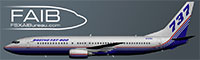 FAIB 737-800 logo.