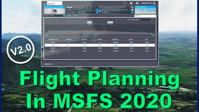 Flight Planning in MSFS 2020 cover artwork.