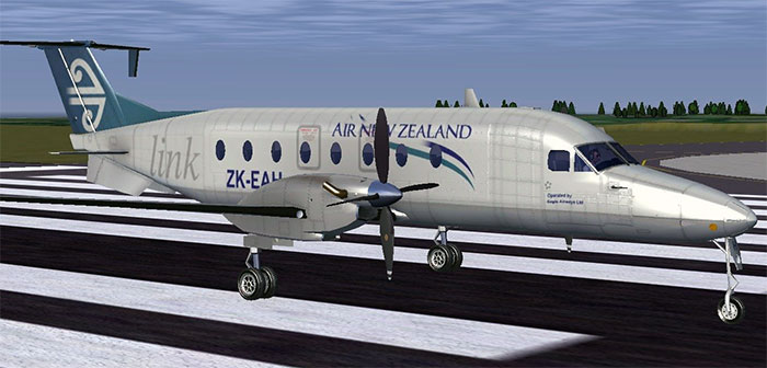 Screenshot from FlightGear