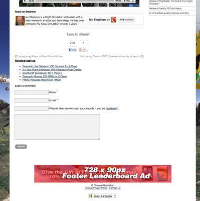 Footer leaderboard