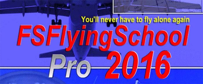 FSFlyingSchool 2016 logo artwork