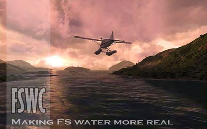 Flight Sim Water Configurator cover artwork.