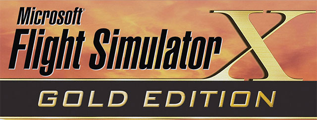 Flight Simulator X Gold Edition box artwork