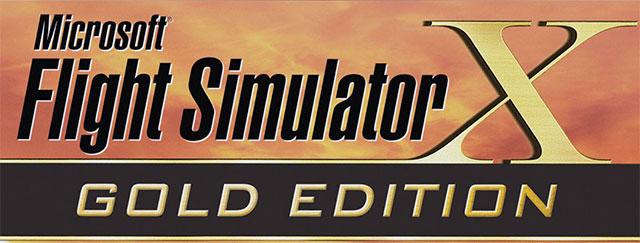 Flight Simulator X Gold Edition box artwork