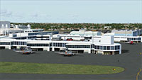 Kingsford Smith airport in FSX.