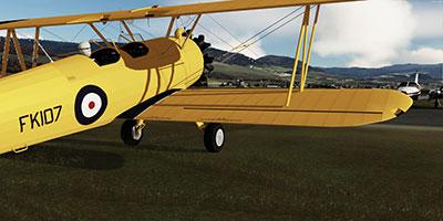 Boeing-Stearman Model 75 depicted in P3Dv5.