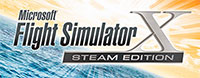 FSX: Steam Edition logo.
