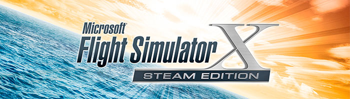 Official Microsoft Flight Simulator X: Steam Edition logo