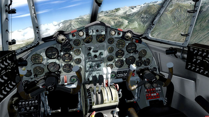 Full 3D Virtual Cockpit
