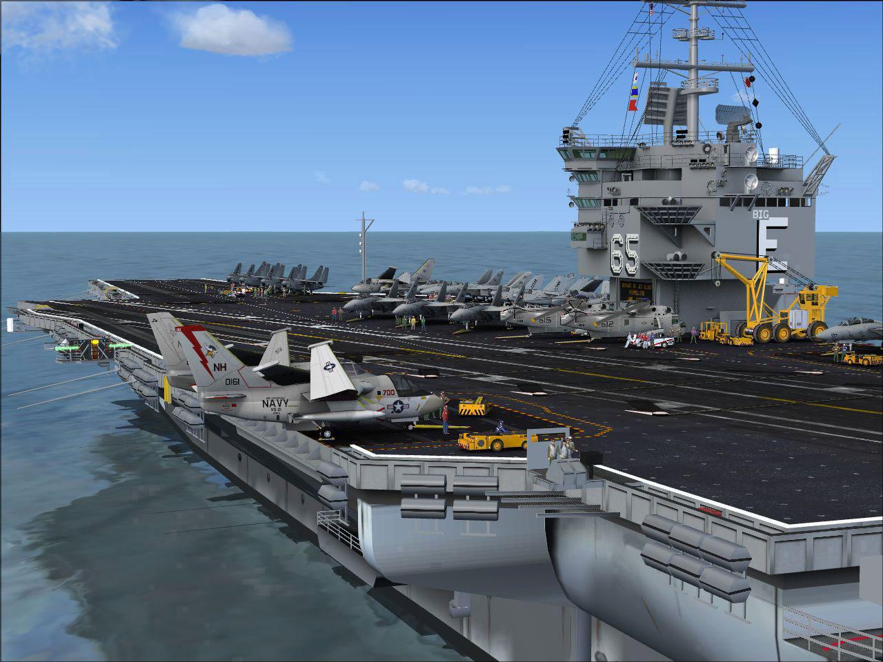 Review Uss Enterprise Aircraft Carrier For Fsx P3d By