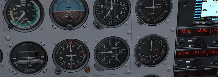 Cockpit gauges