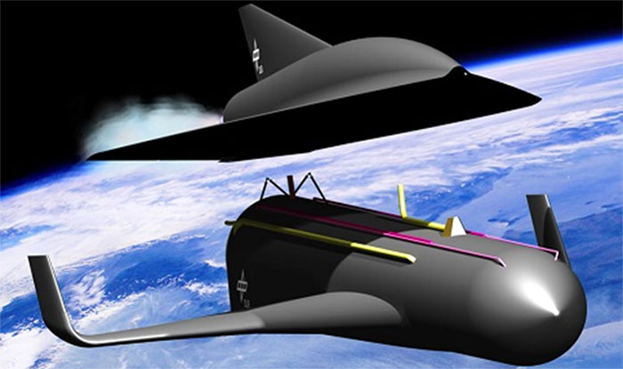 SpaceLiner CGI artwork