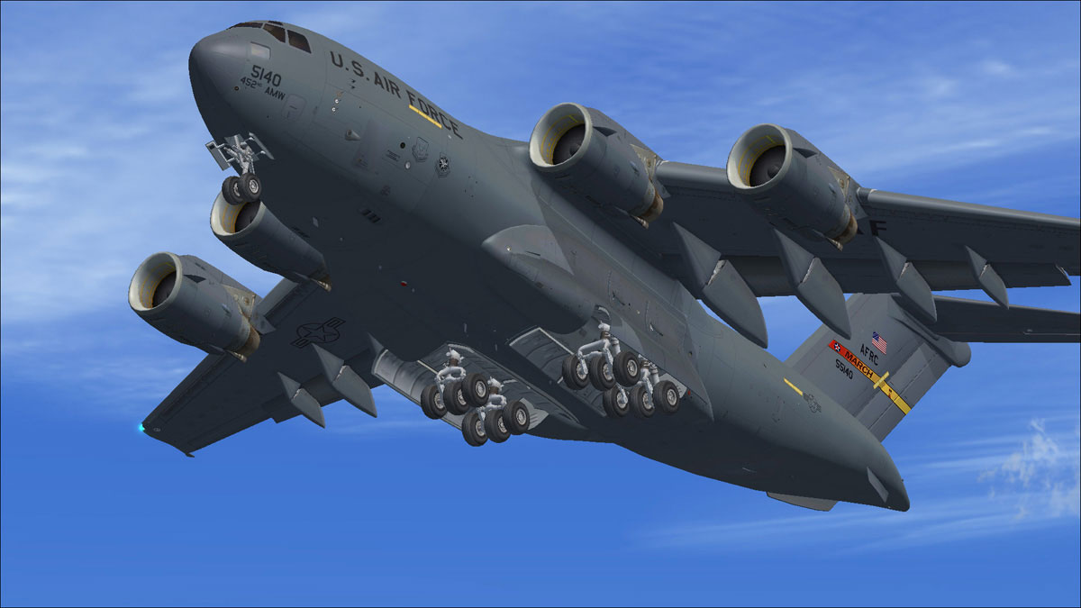 C 17a Globemaster Iii For Fsx By Virtavia Review
