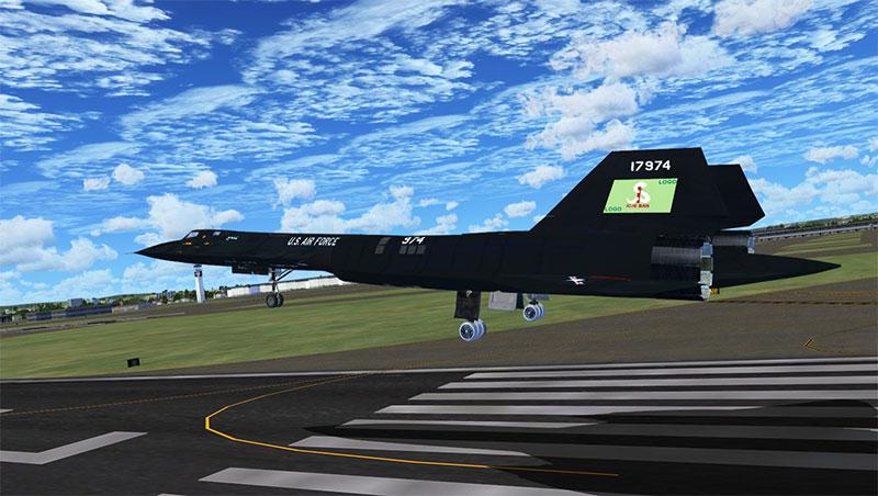 GMax Academy SR-71.