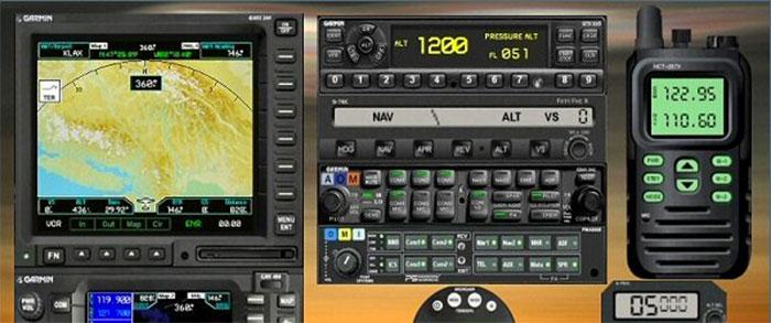 Screenshot showing the GMX Navigation Equipment