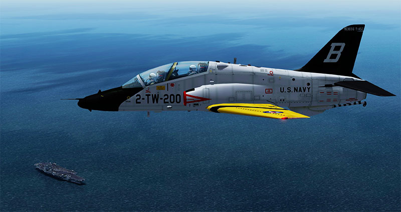Dino's US Marines T-45 Goshawk in P3Dv4.