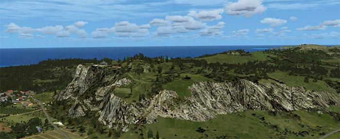High detail terrain mesh