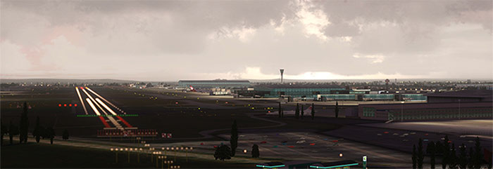 Heathrow scenery - the whole airport
