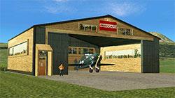 Hellcat hangar in XP11.