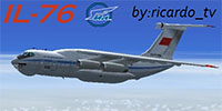Il-76 over clouds