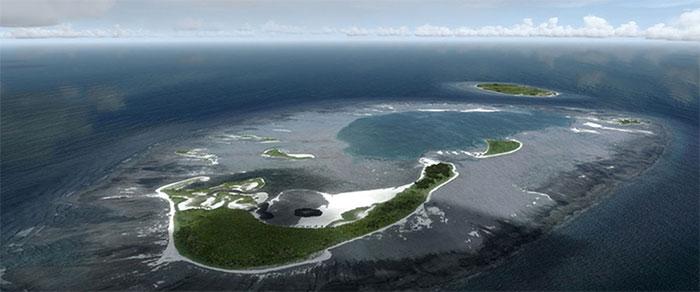 Cluster of islands