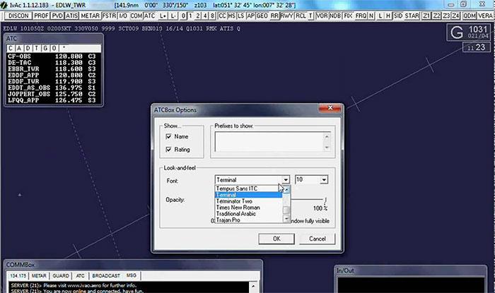 IvAp client screenshot