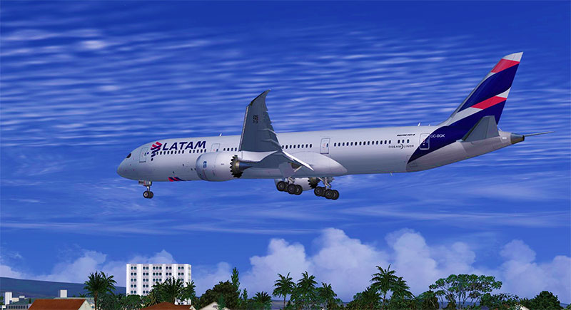 LATAM 787-9 add-on.