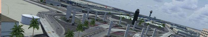 LAX airport scenery