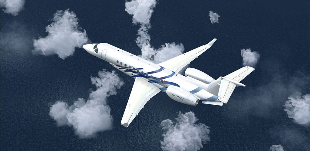Learjet in FSX