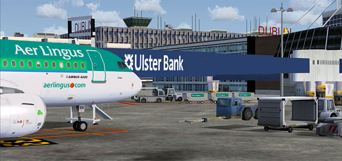 Air Lingus at gate