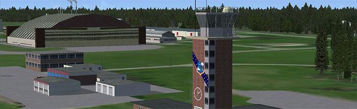 Loring control tower