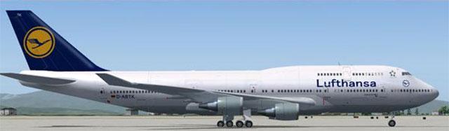 iFly 747-400 Lufthansa Livery