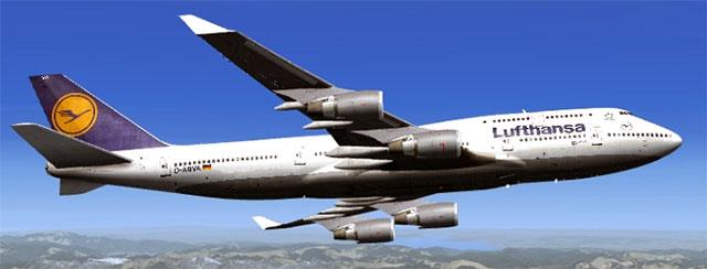 Lufthansa 747 by PMDG