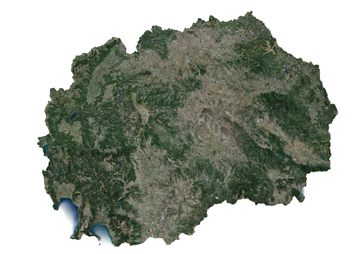 Macedonia coverage map.