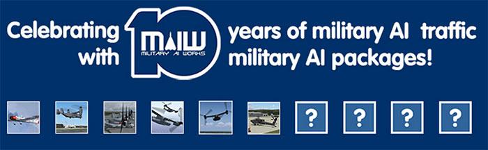 Military AI Works logo celebration