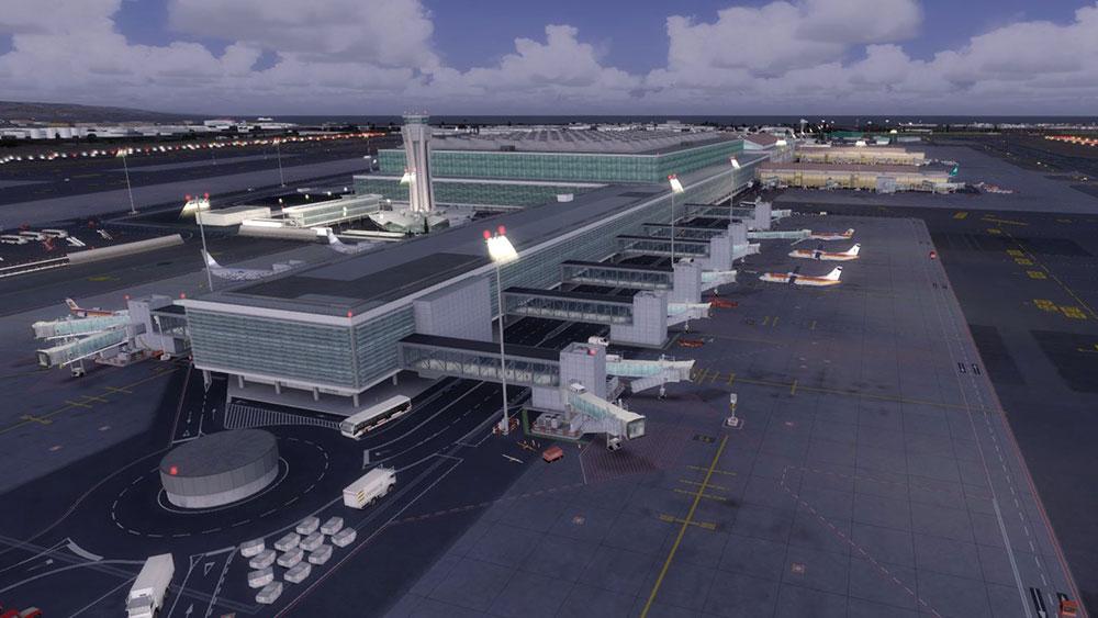 Malaga X Scenery by Aerosoft Released for FSX/FSX:SE/P3D